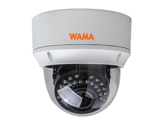 AS2-V54W 2MP Vandal Resistant Dome AHD Camera