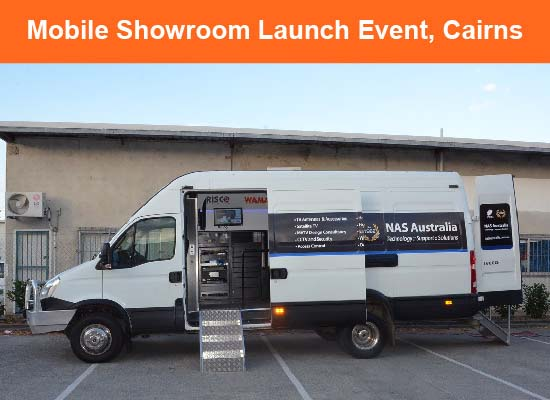 WAMA Mobile Showroom in Cairns