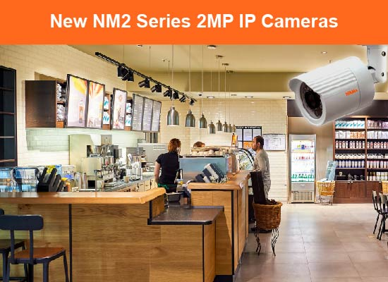 NM2 Series 2MP H.265 Intelligent IP Cameras