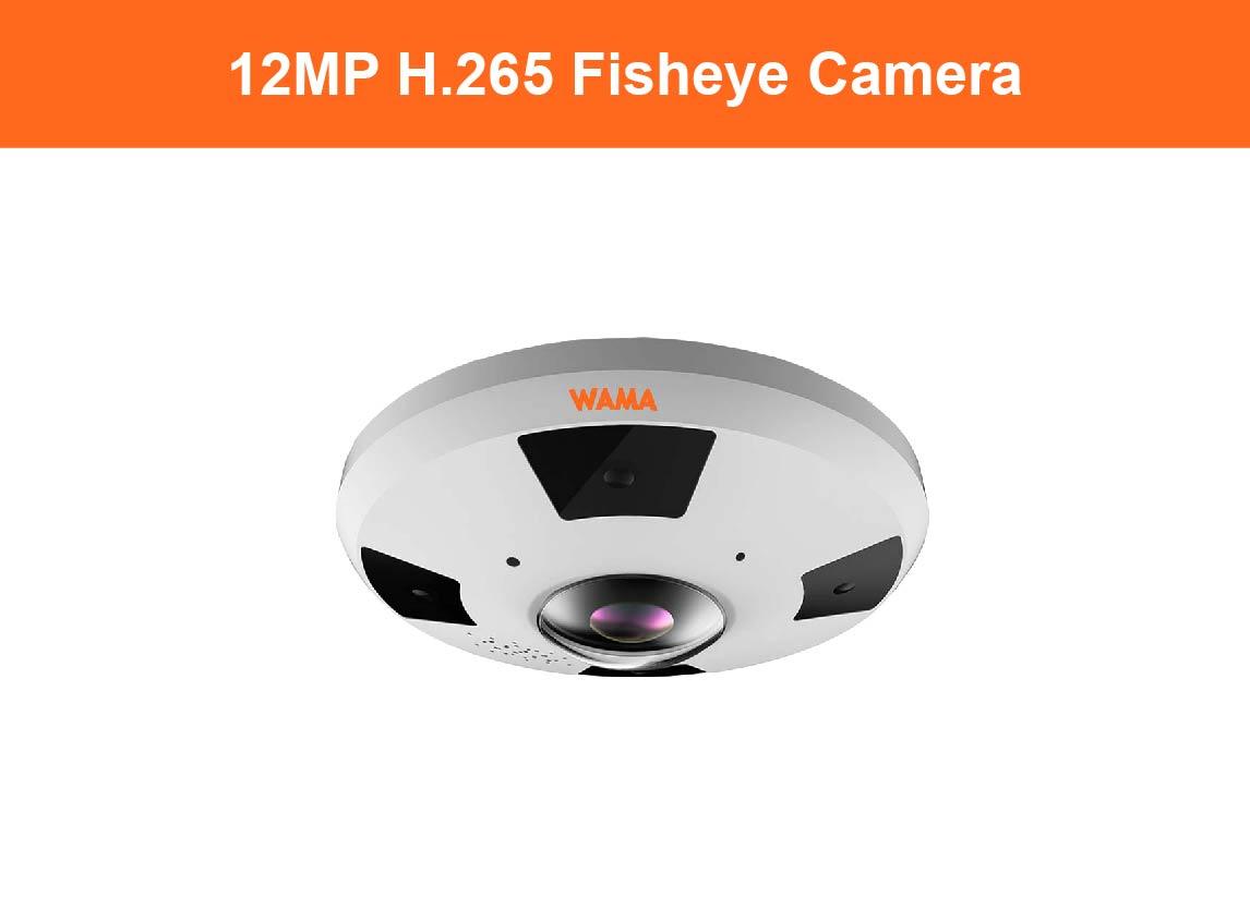 12MP Fisheye Camera