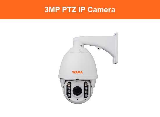 3MP PTZ IP Camera